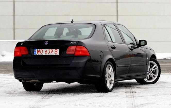 Saab 9-5 - tył