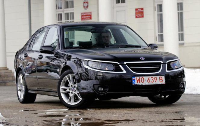 Saab 9-5 - przód