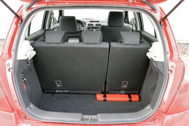 Suzuki Swift - bagażnik