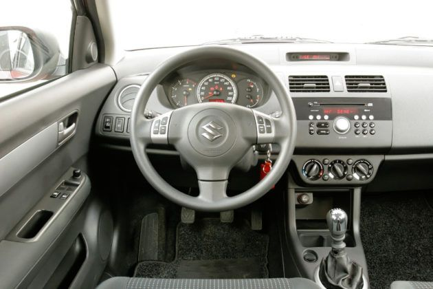 Suzuki Swift - deska rozdzielcza