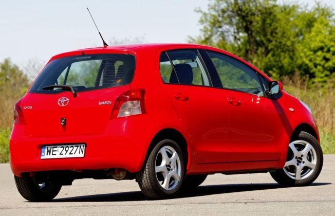 Toyota Yaris - tył