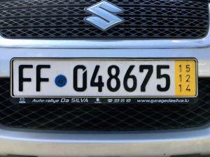 Niemieckie tablice tymczasowe