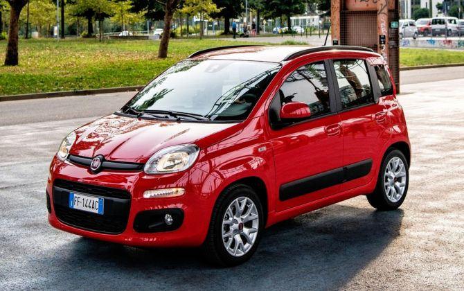 Włochy - Fiat Panda