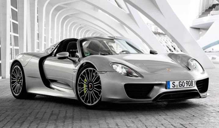 Zlatan Ibrachimović - Porsche 918 Spyder