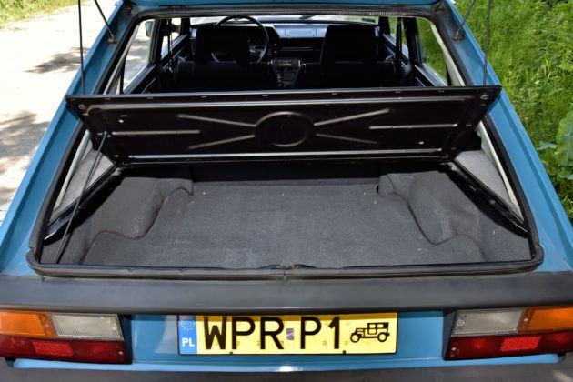 FSO Polonez - bagażnik