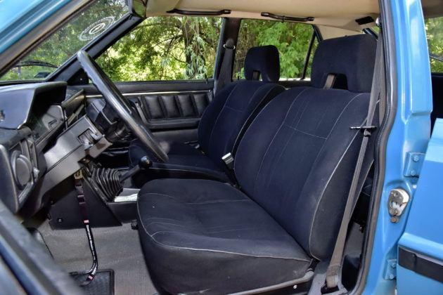 FSO Polonez - fotel kierowcy