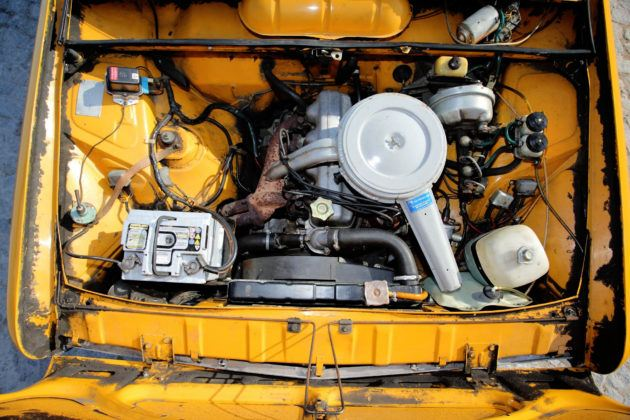 Fiat 125p - silnik