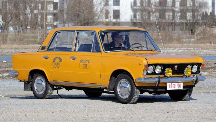 Fiat 125p - przód