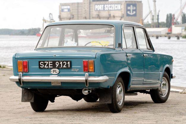 Fiat 125p - tył