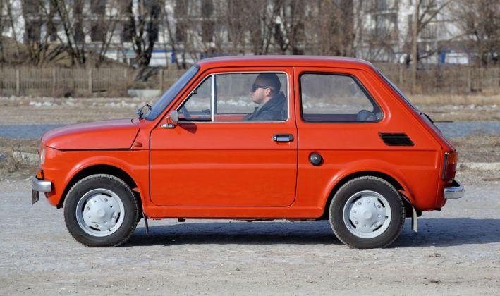 Fiat 126p - bok