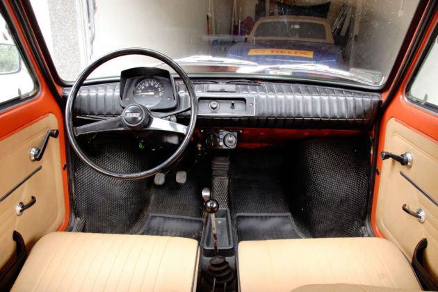 Fiat 126p - deska rozdzielcza