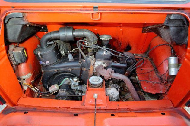 Fiat 126p - silnik