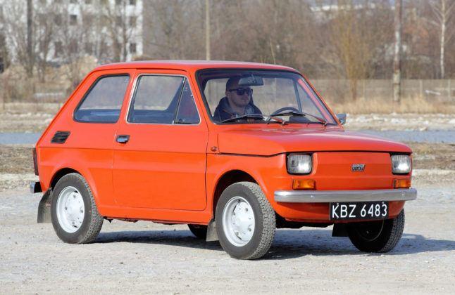 Fiat 126p - przód