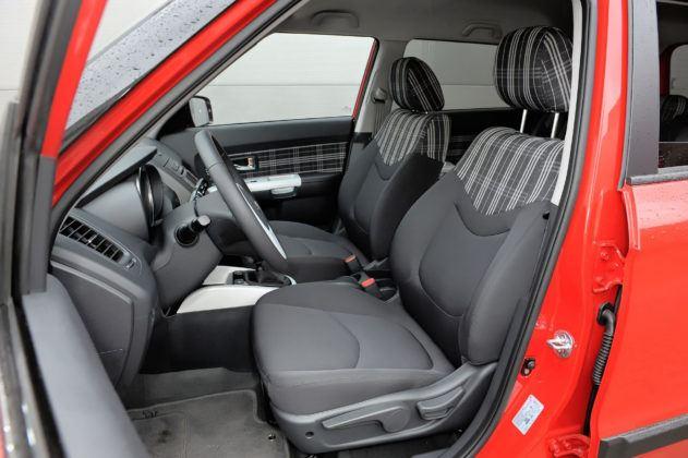 Kia Soul - fotel kierowcy