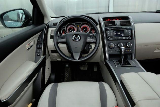 Mazda CX-9 - deska rozdzielcza