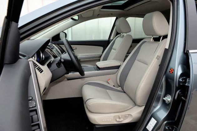 Mazda CX-9 - fotel kierowcy