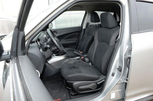 Nissan Juke - fotel kierowcy