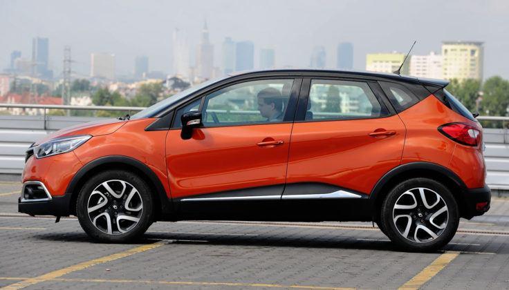 Renault Captur - bok