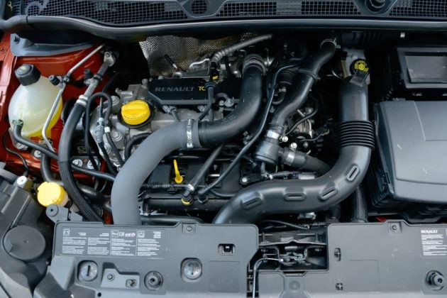 Renault Captur - silnik