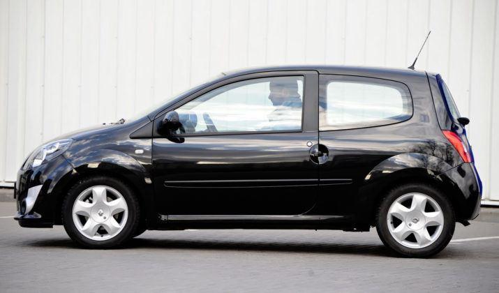 Renault Twingo II - bok