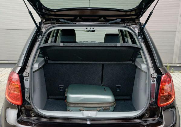 Suzuki SX4 - bagażnik