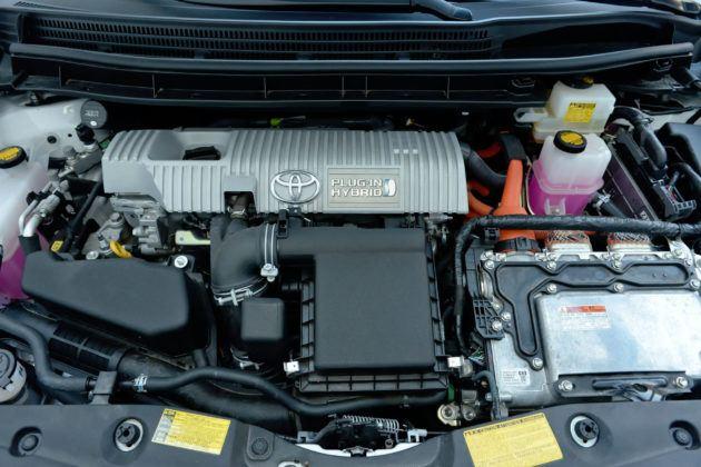 Używana Toyota Prius III - silnik