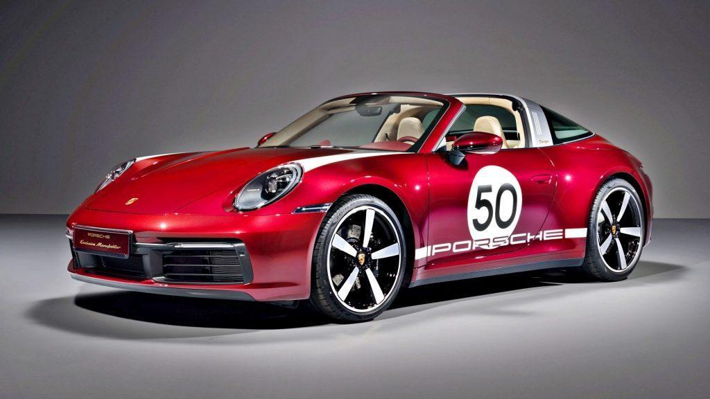 Porsche 911 (992) Targa 4S Heritage Design Edition