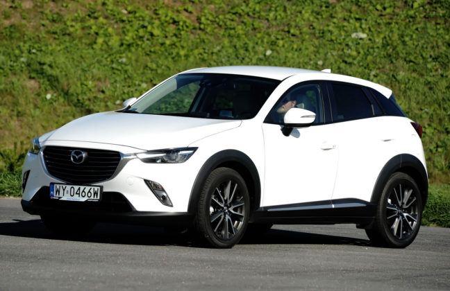 Średnie SUV-y - najgorszy - Mazda CX-3