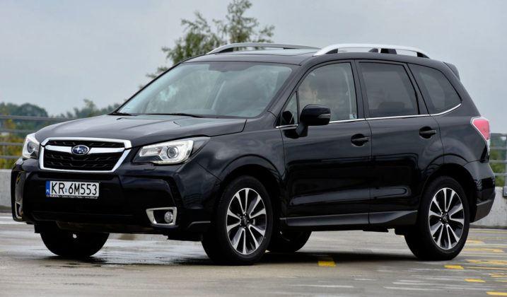 Średnie SUV-y - najlepszy - Subaru Forester