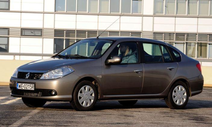 Auta miejskie - najgorszy - Renault Thalia (sylwetka)