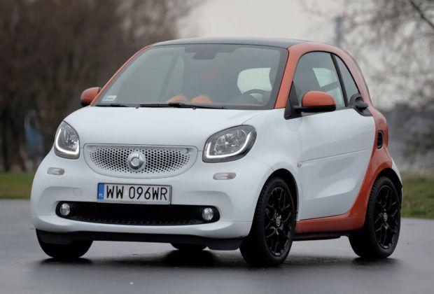 Auta mini - najgorszy - Smart Fortwo