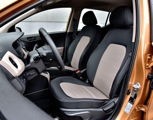 Auta mini - najlepszy - Hyundai i10 (fotel kierowcy)