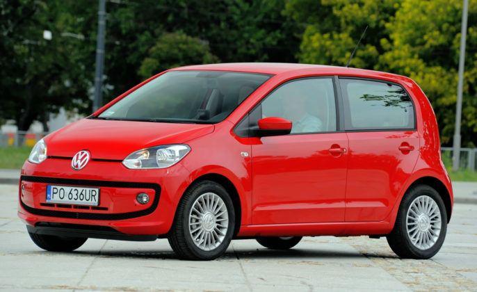 Auta mini - najlepszy - Volkswagen Up!