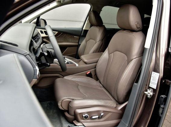 Duże SUV-y - najlepszy - Audi Q7 (fotel kierowcy)