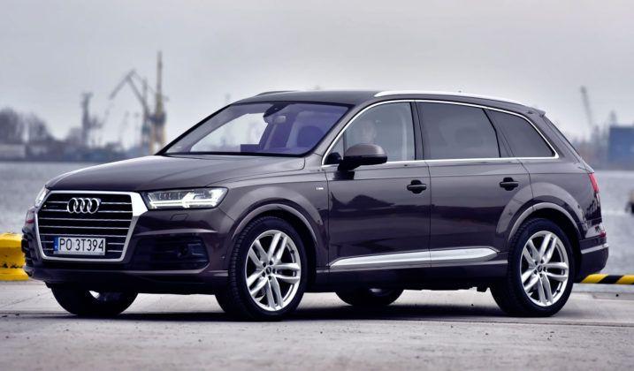 Duże SUV-y - najlepszy - Audi Q7 (sylwetka)
