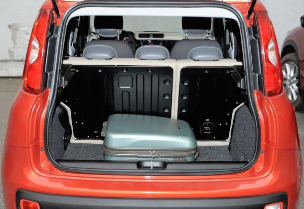 Fiat Panda III - bagażnik