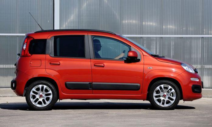 Fiat Panda III - bok