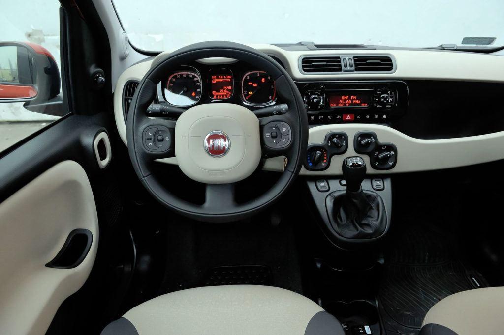 Fiat Panda III - deska rozdzielcza