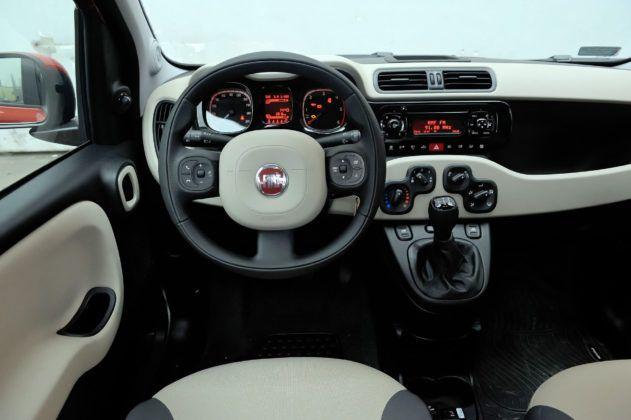 Używany Fiat Panda III - deska rozdzielcza