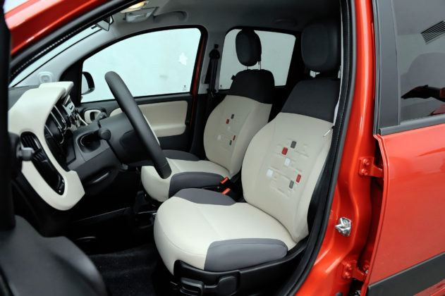 Używany Fiat Panda III - fotel kierowcy
