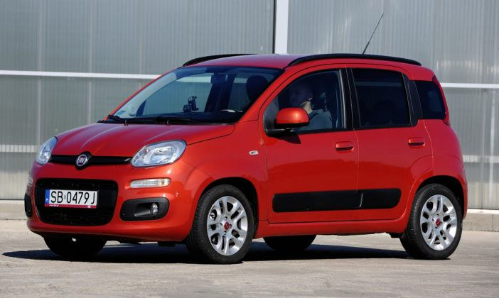 Używany Fiat Panda III - przód