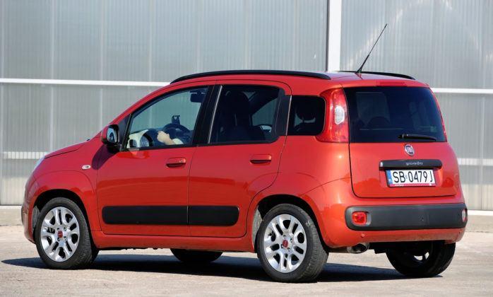 Fiat Panda III - tył