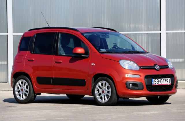 Fiat Panda III - przód