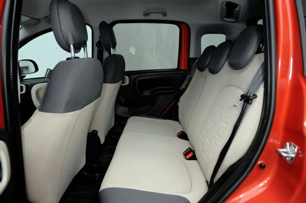 Fiat Panda III - tylna kanapa