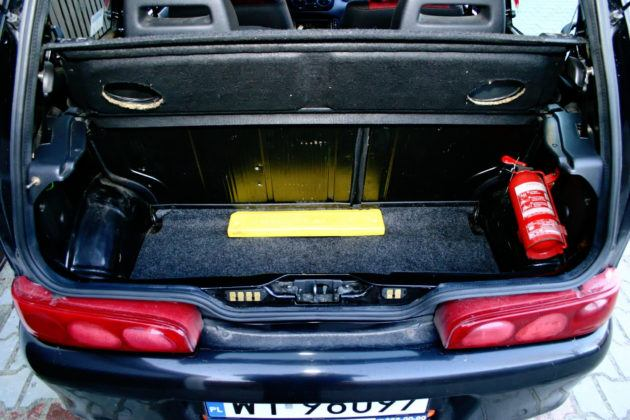 Fiat Seicento Sporting - bagażnik
