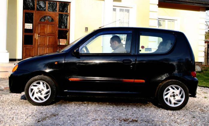 Fiat Seicento Sporting - bok