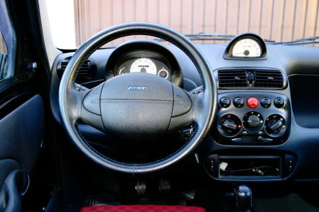 Fiat Seicento Sporting - deska rozdzielcza