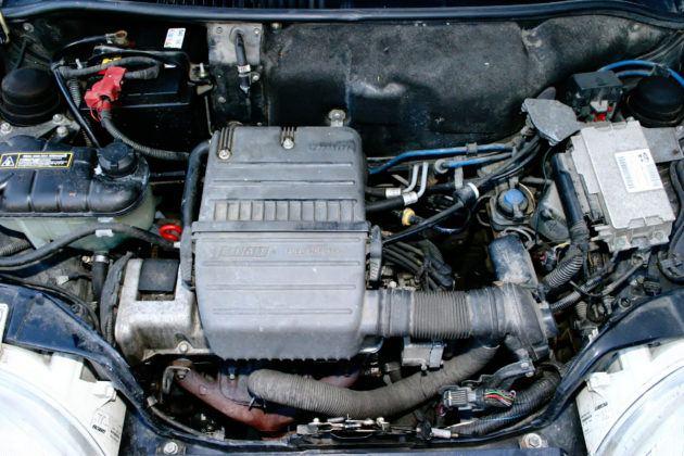 Fiat Seicento Sporting - silnik