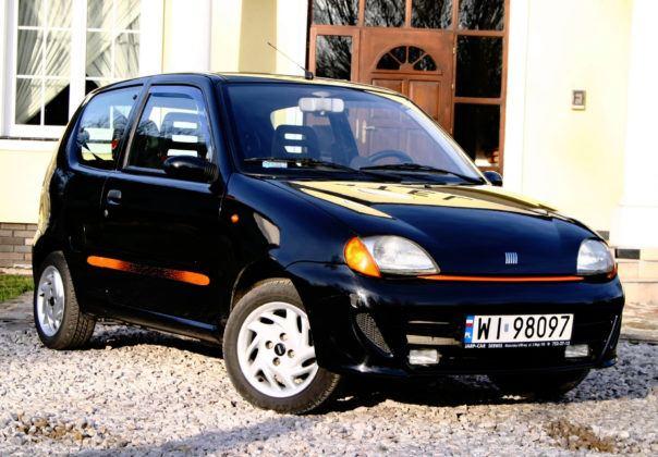 Fiat Seicento Sporting - przód