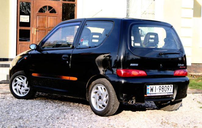 Fiat Seicento Sporting - tył